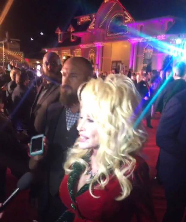 Dolly on the Red Carpet