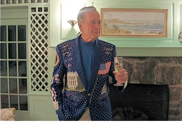 George Bush Jacket