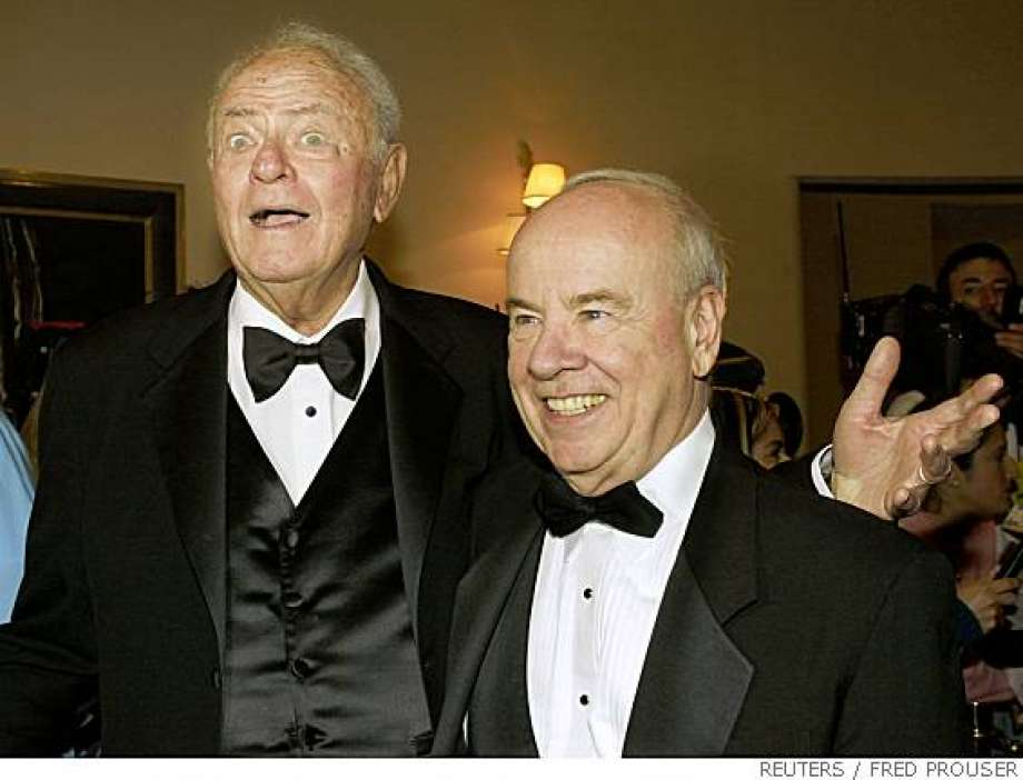 Tim Conway and Harvey Korman